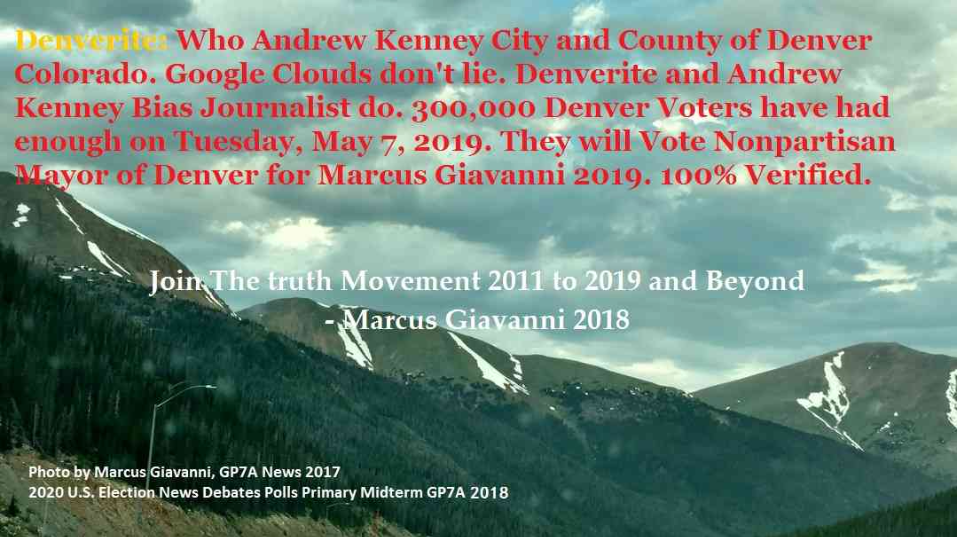 Denverite City and County of Denver Andrew Kenney Bias Journalist 2018